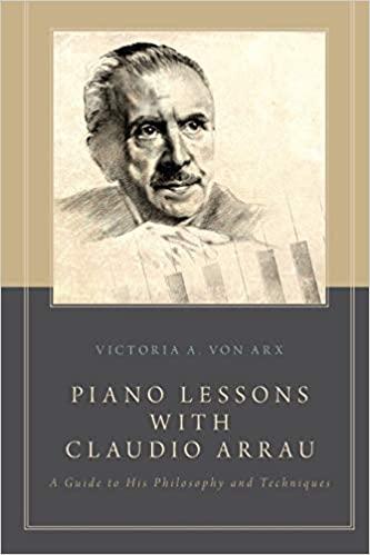 Piano Lessons with Claudio Arrau Cover Art