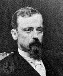 Oil painting of Henryk Sienkiewicz