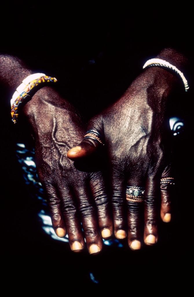 Northern Ghana: Priest's Hands