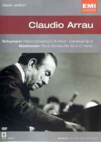 Claudio Arrau in Concert Cover Art