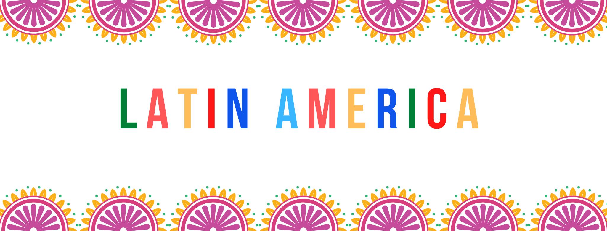 Latin America Banner Art