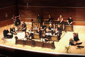 University of Tennessee Gamelan ensemble performing
