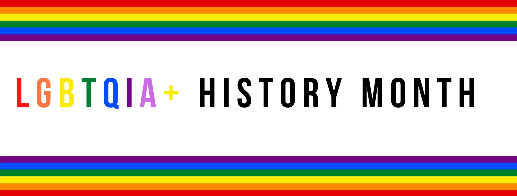 LGBTQIA+ Banner Art