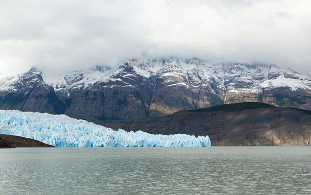Glacier in Southern Chile