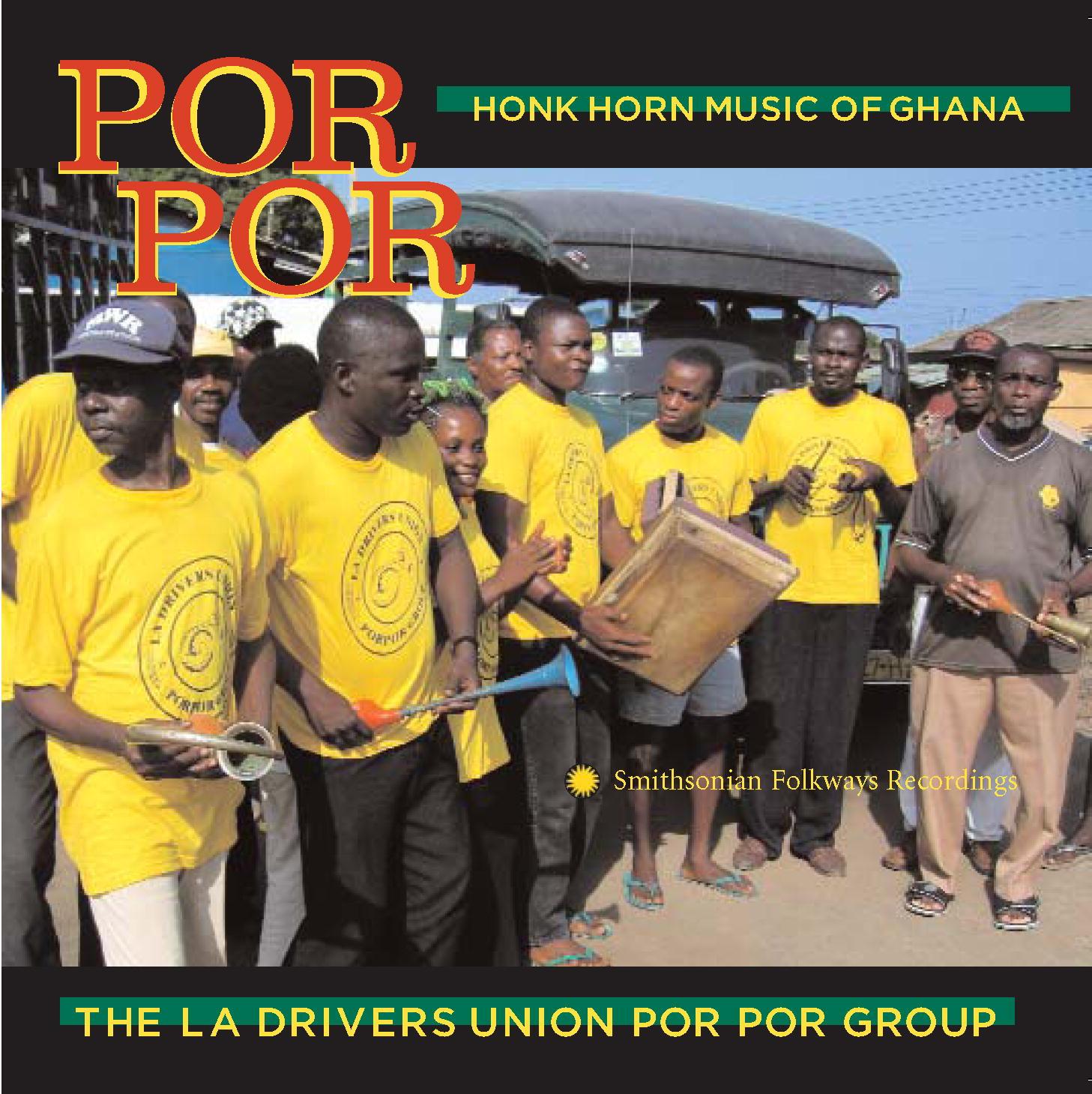 Por por Honk Horn Music of Ghana Album Art