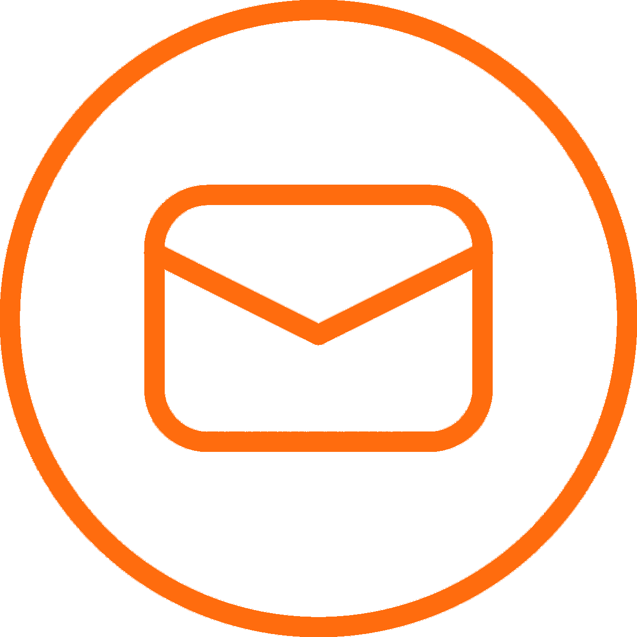 Symbol for a email.
