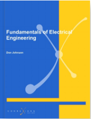 """Book cover for textbook titled """"Fundamentals of Electrical Engineering."""""""