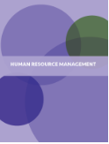 Image of cover for textbook Human Resource Management