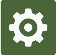 Merlot Cog Logo for Material Details