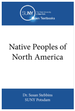 """Book cover for the text """"Native Peoples of North America"""""""