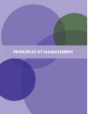 Cover of textbook Principles of Management