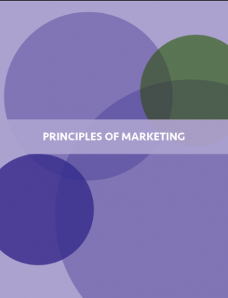 Image of cover for textbook Principles of Marketing