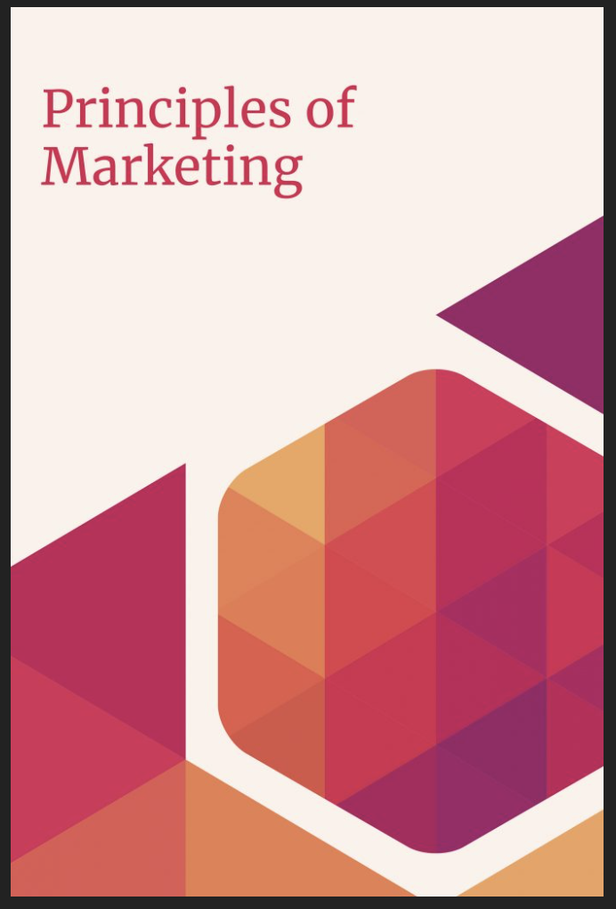 """Cover of text for """"Principles of Marketing"""""""