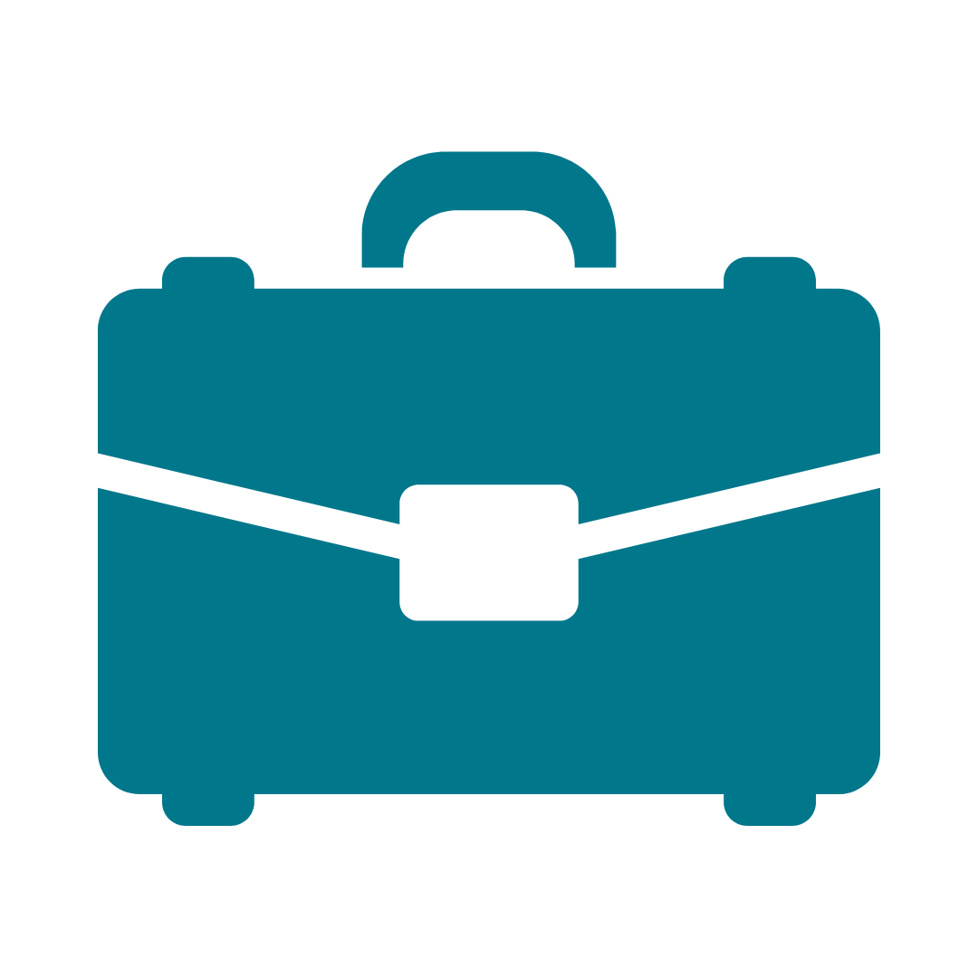 Graphic of briefcase