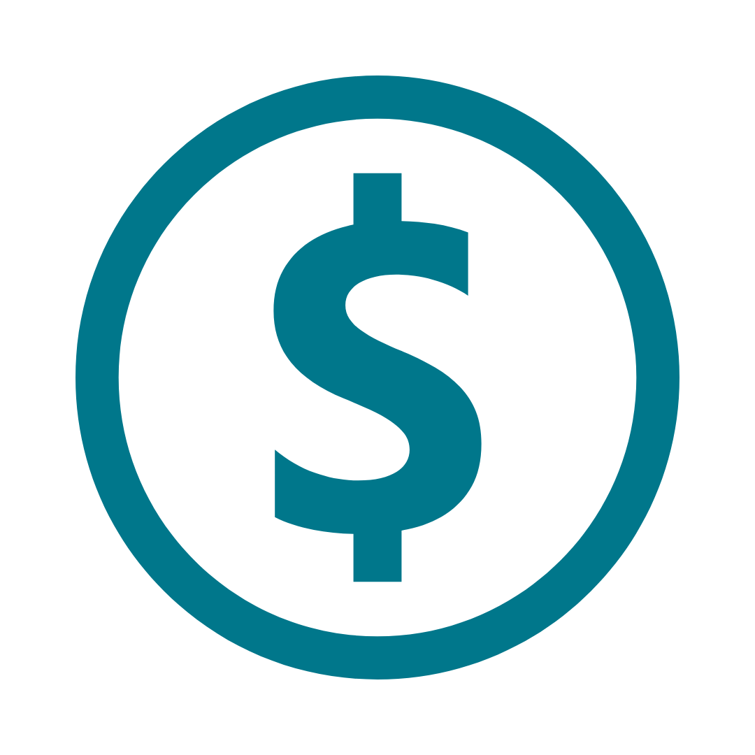 Graphic of dollar sign