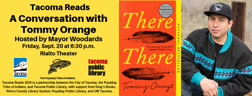 Tacoma Reads: A conversation with Tommy Orange