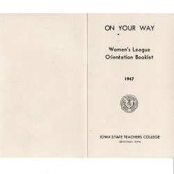 One Your Way booklet