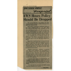 Article about the 'no hours' policy.