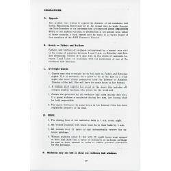 List of regulations for women.