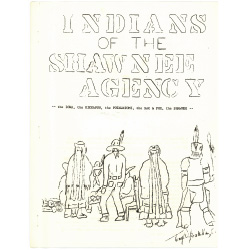 Booklet about the Shawnee tribe