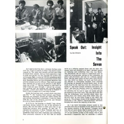 Image of article about UNI 7 from the UNI Quarterly.