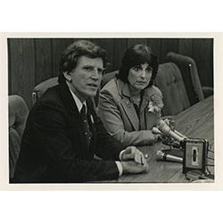 Image of Lynn Cutler and another person.