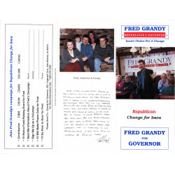 Image of mailer for Fred Grandy.