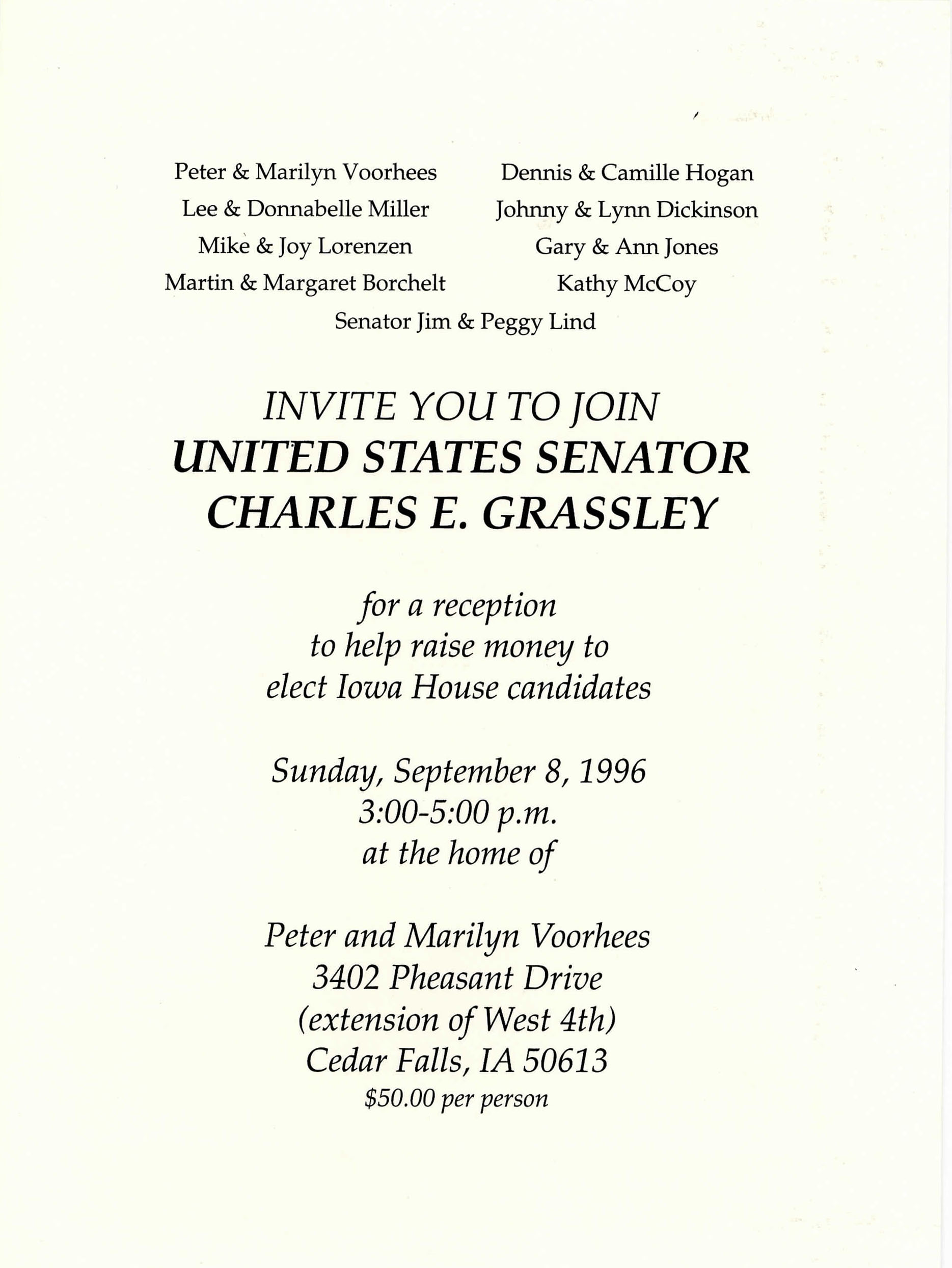 Image of an invitation.