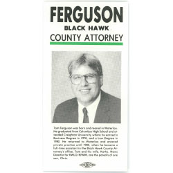 Image of flyer for County Attorney.