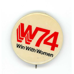 Image of campaign button.