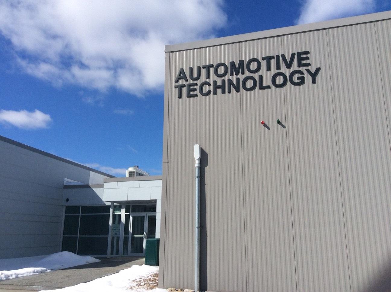 MCC Automotive Tech building entrance