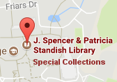 special collections directional map