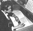 Female information operator, 1960s