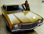 Tan 1970 Monte Carlo Coupe