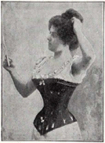 Woman in a corset, 1896