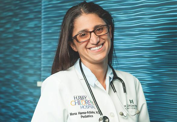 headshot of Dr. Mona Hannah Attisha