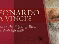 Image of Da Vinci book on flight of birds