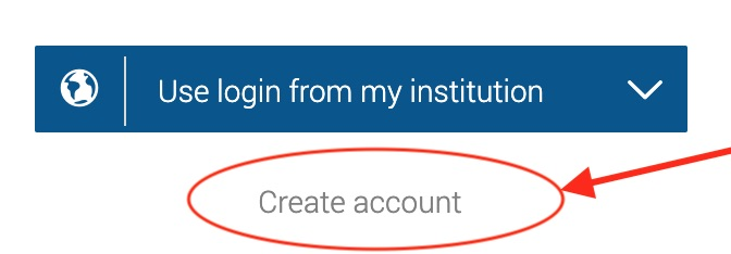 Create Account image