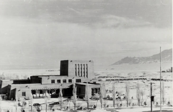 Zimmerman Library from the 1930s