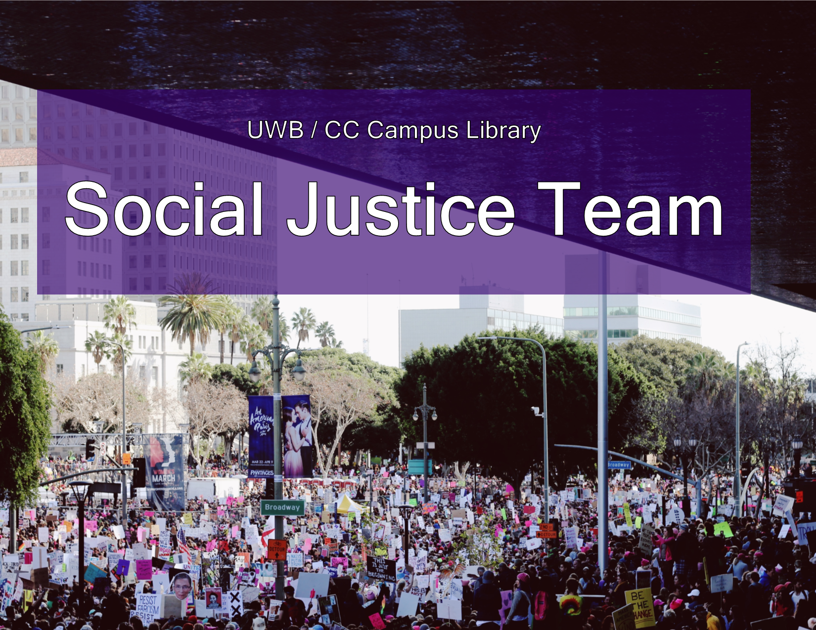 reads: UWB / CC Campus Library Social Justice Team