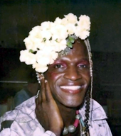 portrait of Marsha P. Johnson