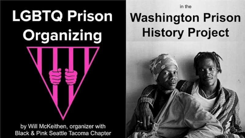 logo for the Seattle Tacoma Chapter of of the national Black and Pink Organization,