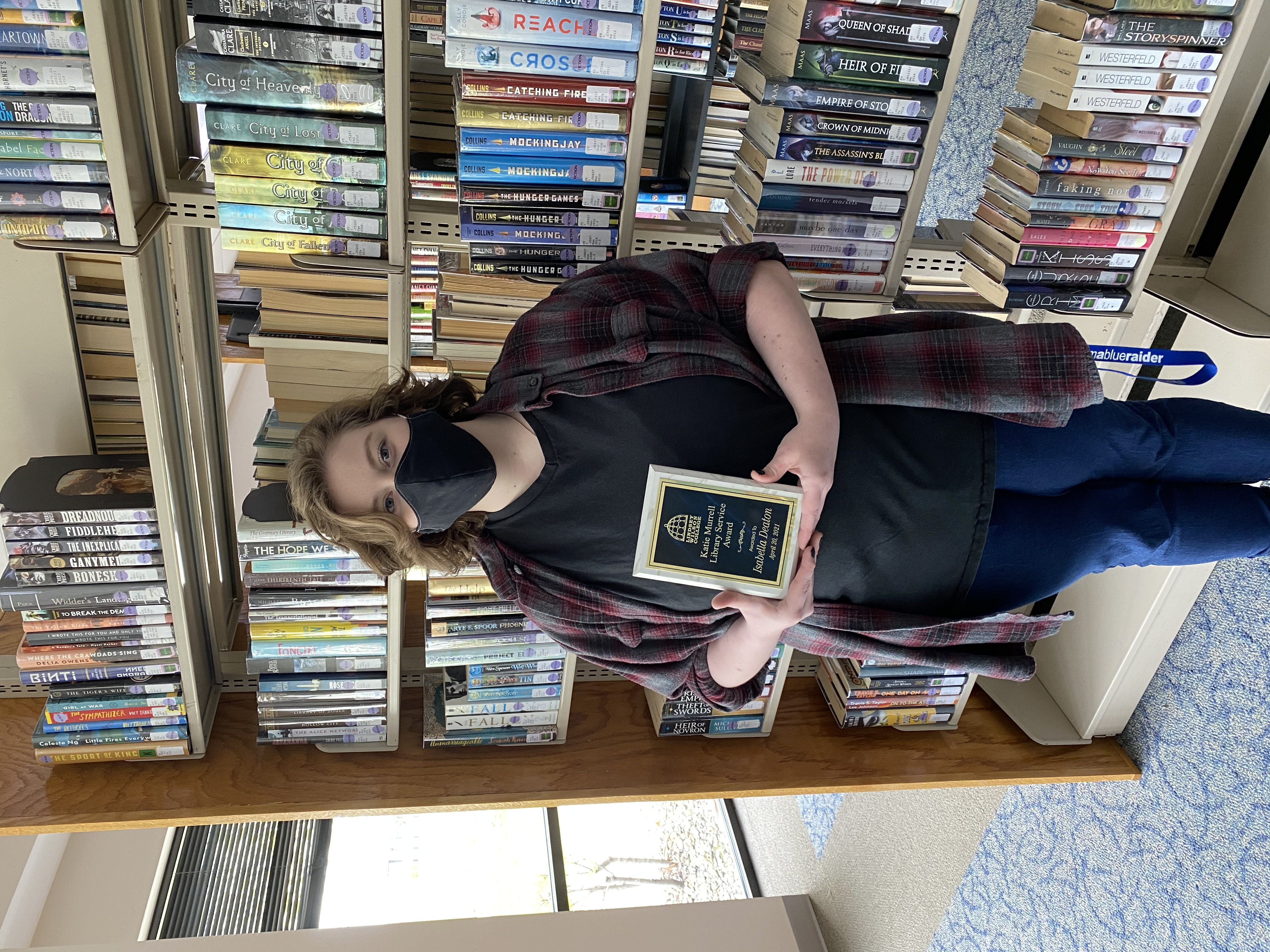 Congratulations to Isabella Deaton our 2021 Katie Murrell Library Service Award recipient!