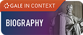 Biography Gale in Context button