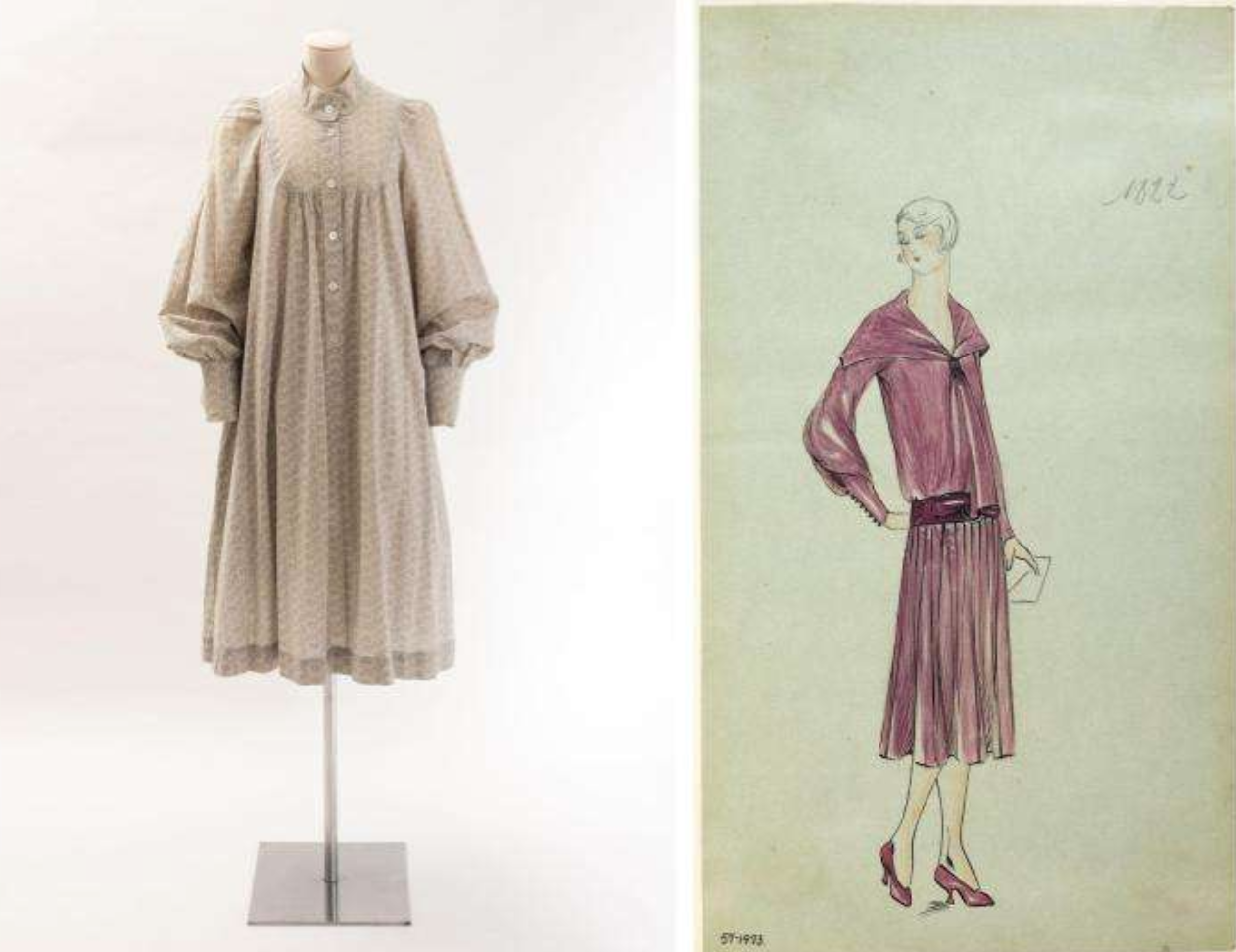 Images of Dresses from the Berg Fashion LIbrary