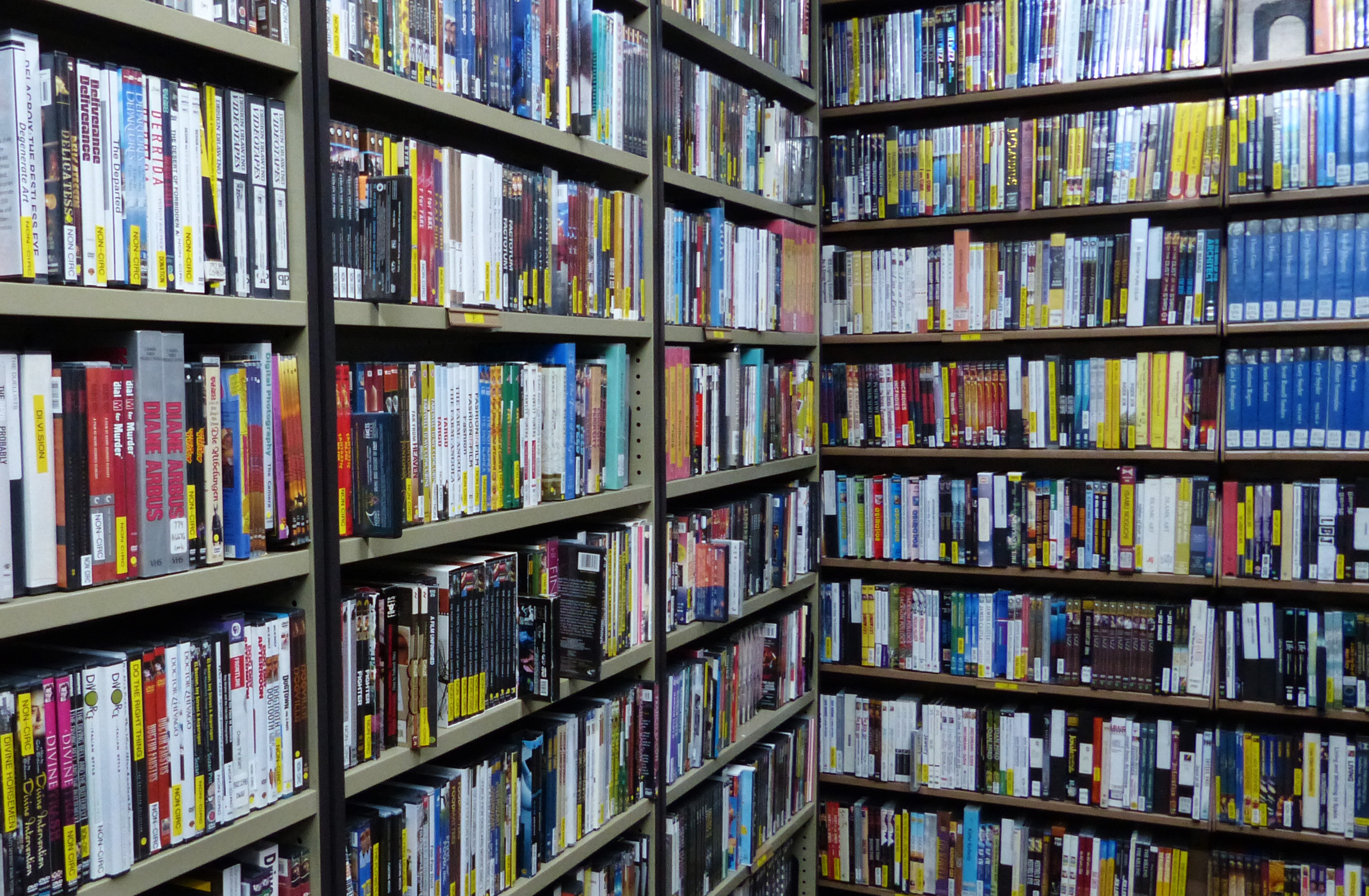 Image of the DVD vault