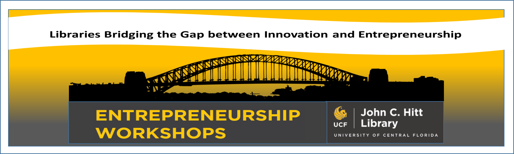 Library Entrepreneurship Workshops