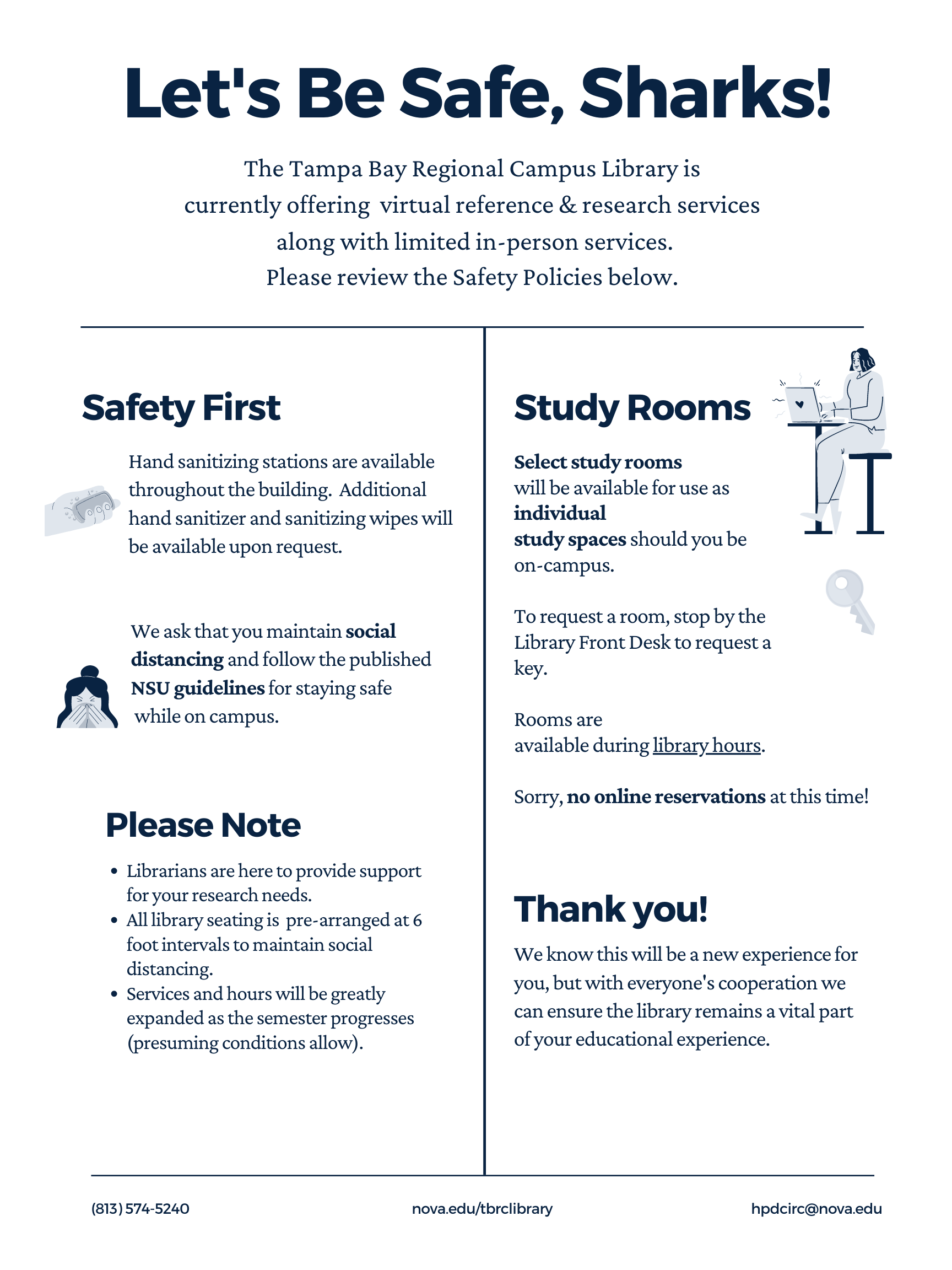 Winter 2021 Safety Procedures