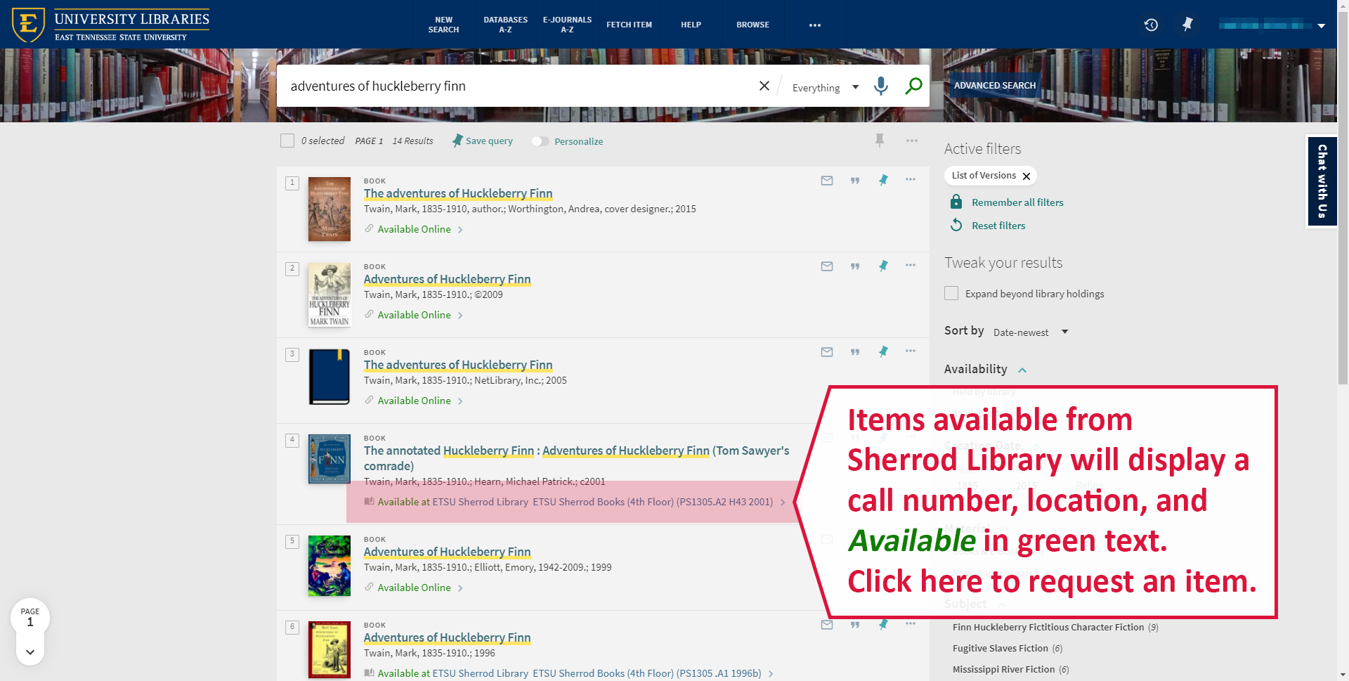 A screenshot illustrating how to request an item for home delivery.