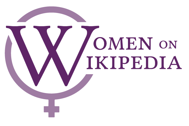 Women on Wikipedia logo